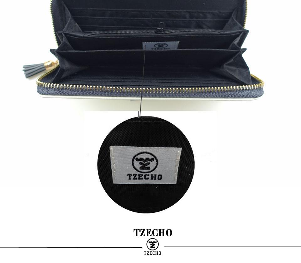 HTB1bbiBRFXXXXcxXpXXq6xXFXXXc - TZECHO Women Wallets PU Print Dream Catcher Carton Long Ladies Purses Coin Pocket Card Holder Clutch Zipper Wallets for Women