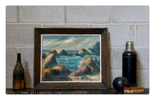 Ocean waves oil painting Seascape Oil painting  seaside on canvas hight Quality Hand-painted Painting 59
