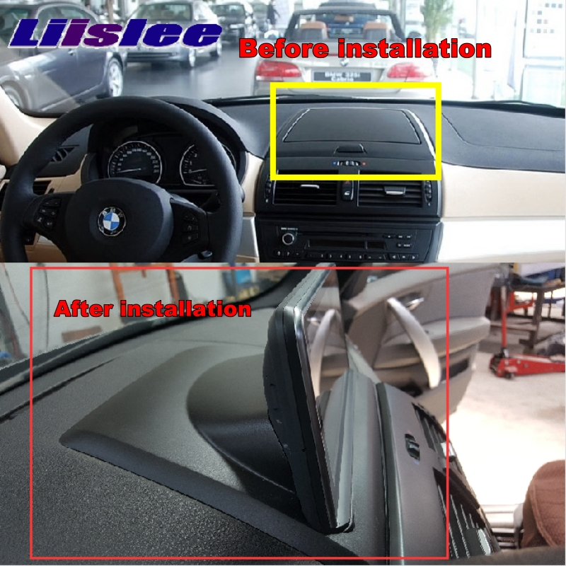 LiisLee For BMW X3 E83 2003~2010 Car Multimedia GPS Map 10.25Android Audio Hi-Fi Radio Stereo Original Style Navigation NAVI