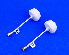 5.8 GHz Circular Polarized Antenna Set - White, SMA Plug