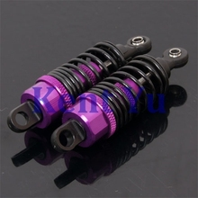 HSP Upgrade Parts 1:10 On/Off-Road Buggy Truck RC Alum.Shock Absorber 102004 Purple For a variety of models