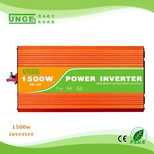 1500W DC to AC pure sine wave power inverter/ car inverter/5V USB output 12V/24V/48VINPUT to 110V/120V/220V/230V/240V OUTPUT