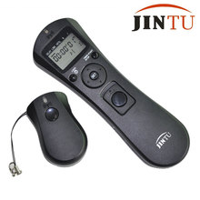 Jintu Wireless Camera Time Lapse Intervalometer Remote Timer Shutter Release For Canon 5D 5D Mark II III 7D 50D 40D DSLR