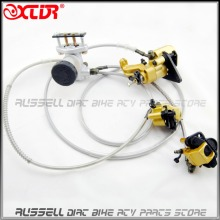 Hydraulic Disc Brake Calipers Pad System 125cc Quad Dirt Bike Dune Buggy Go Kart