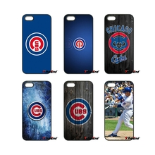 For iPod Touch iPhone 4 4S 5 5S 5C SE 6 6S 7 Plus Samung Galaxy A3 A5 J3 J5 J7 2016 2017 Baseball Chicago Cubs Team Logo Cover(China)