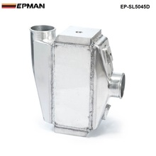 "EPMAN - 12""x12""X4.5"" Bar & Plate Front Mount Water-To-Air Turbo Intercooler Aluminum Universal  EP-SL5045D"