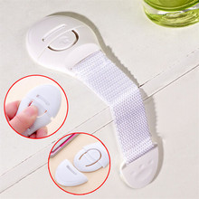 Home Supplies Hot Selling 10Pcs Baby Adhesive Safety Lock For Cabinet Door Drawers Refrigerator drop shipping 0522
