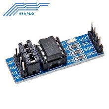 2PCS AT24C256 Serial I2C Interface EEPROM Data Storage Module For Arduino PIC NEW