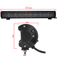 Hot sale! 22'' 240W OFFROAD LED LIGHT BAR COMBO BEAM CAR AUTO SUV BOAT 4X4 WAGON DRIVING HEADLIGHT BAR FOR  CHEVY  LAND