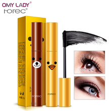 OMY LADY HANCHAN Makeup Curling Thick Mascara long Eyelashes Make up Waterproof Fiber Cream Eyelash Mascara long-lasting gel(China)
