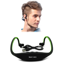 2017 Ear Hook Portable Headphone Sport MP3 Player with TF Card Slot Headset Wireless Earphone Headphones Mp3 Music Player