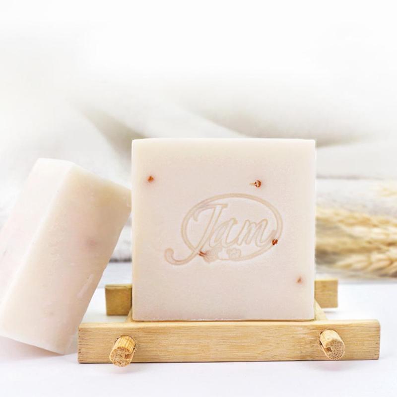 Rice Milk Handmade Soap Whitening Soap Collagen Vitamin Skin Whitening Bathing Tool Rice Milk Soap Rice Soap 6