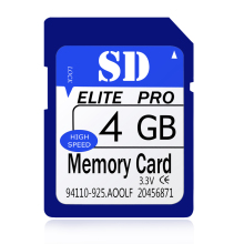 Quality SDHC Full Capacity Guranteed 4GB SD Card 4 GB Memory Card