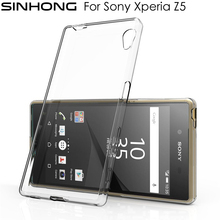 Buy Ultra Slim Clear TPU Phone Case Sony Xperia Z5 Cases Back Cover Thin Silicone Transparent Flexible Fundas Silicon Coque for $1.10 in AliExpress store