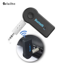 3.5 Car Wireless Bluetooth Audio Receiver Bluetooth Music Receiver adapter car stereo AUX Bluetooth transceiver car-styling(China)