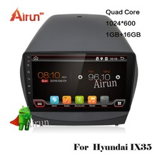for Hyundai iX35 2011 2012 2013 2014 2015 Pure Android 6.0 quad core 2 din car dvd gps radio stereo 2 din dvd wifi(China)