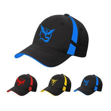 Pokemon Go Cap Hat Team Valor Mystic Instinct Black Baseball Men Snapback Women - Rita Fairy Store store