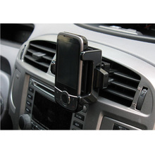 Newest universal car air outlet bracket mobile phone holder auto accessories for iPhone HTC PDA free shipping 5pcs/lot