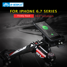 INBIKE Bicycle Cell Phone Bracket Cycling iPhone 6 7 Handlebar Holder Bag Motorcycle Navigation Mountain Bike Accessories Apple