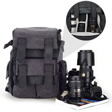 Binmer  1PC CADEN M5 Travel Double Shoulder DSLR SLR Camera Bag Laptop Backpack For Canon Nov 03