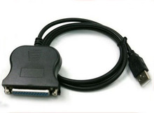 USB Male TO DB25 25Pin Female Printer Parallel Port IEEE 1284 LPT Adapter Converter Cable Cord 0.8M