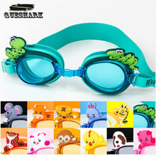 Professional Cartoon Animals Children Kids Swim Eyewear Anti-Fog Waterproof UV Protection Swim Glasses Swimming Googles(China)