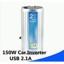 150W Car Inverter Vehicle Power Converter Adapter 12V To 110V American Brazil Japan Voltage(China)