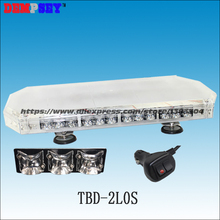 TBD-2L0S LED mini lightbar, Emergency,rescue, ambulance car Blue DC12V-24V Flashing warning light/Heavy magnetic base LED lights