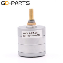 Buy GD-PARTS Brand New EIZZ LOG 50K 100K Stereo 24steps Attentuator Volume Potentiometer HIFI Audio Amplifier DIY x1PC for $65.00 in AliExpress store
