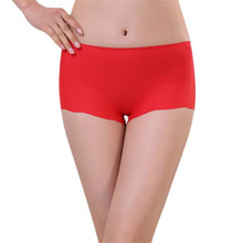 Women Invisible Underwear Spandex Modal girl Underpants elasticity Boxer Briefs female Seamless Crotch shorts Thong lingerie