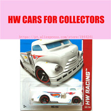 2013 New Hot Wheels 1:64 white mig rig car Models Metal Diecast Car Collection Kids Toys Vehicle Juguetes(China)