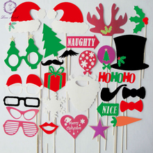 New design 28 Pcs/set Wedding Decoration and Party Favors Multicolor Fun Lip photo booth props wedding party photography suppli