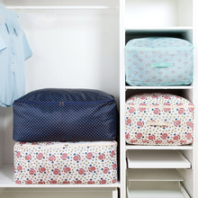 Oxford Cloth Blanket Clothes Quilts Storage Bags Waterproof Portable Extra Large Closet Organizer Box Accessories Supplies 64503(China)