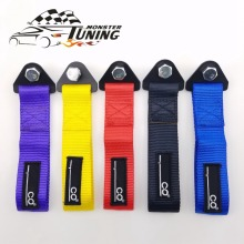 Tuning Monster Universal New Tow Strap High Quality Racing Car Tow Straps / Tow Ropes / Hook / Towing Bars With Logo