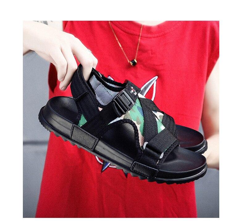 Slippers Men's Sandals Men's Summer Men's Sandals And Slippers Non-slip Beach Fashion Outdoor Wear Drag Trend 70 Online shopping Bangladesh