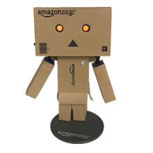 Kawill Danboard Danbo Doll Japanese anime Mini  PVC Action Figure Toy with LED light 8cm