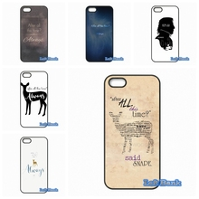 After All This Time Harry potter quotes Phone Cases Cover For Apple iPhone 4 4S 5 5S 5C SE 6 6S 7 Plus 4.7 5.5 iPod Touch 4 5 6(China)