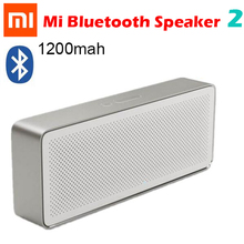 Original Xiaomi Speaker Square Box 2 Newest Xiaomi Bluetooth 4.2 Speaker 2 Music Stereo Portable High Definition Sound Quality(China)