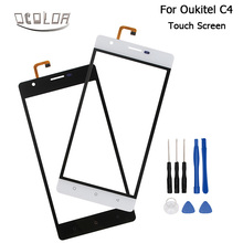 Oukitel C4 Touch Screen Original Touch Panel Perfect Repair Parts for Oukitel C4 Mobile Phone Accessories Free Shipping