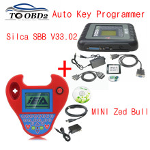 Best Programming Set Auto Key Maker MINI Zed Bull Zed-Bull Smart Silca SBB V33.02 Auto Transponder No Tokens Limited Free Ship(China)