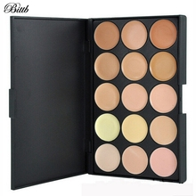Bittb 15Colors Contour Palette Foundation Base Makeup Palettes Cosmetics Concealer Palette Face Primer Cream Beauty Contouring(China)