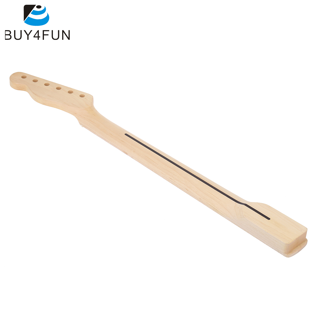 22 Frets Electric Guitar Maple Neck and Fingerboard Dot Inlay for Telecaster Replacement(China (Mainland))