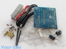 51 Microcontroller Colorful 4*4*4 3D LightSquared Blue Ray LED Cube DIY Kit