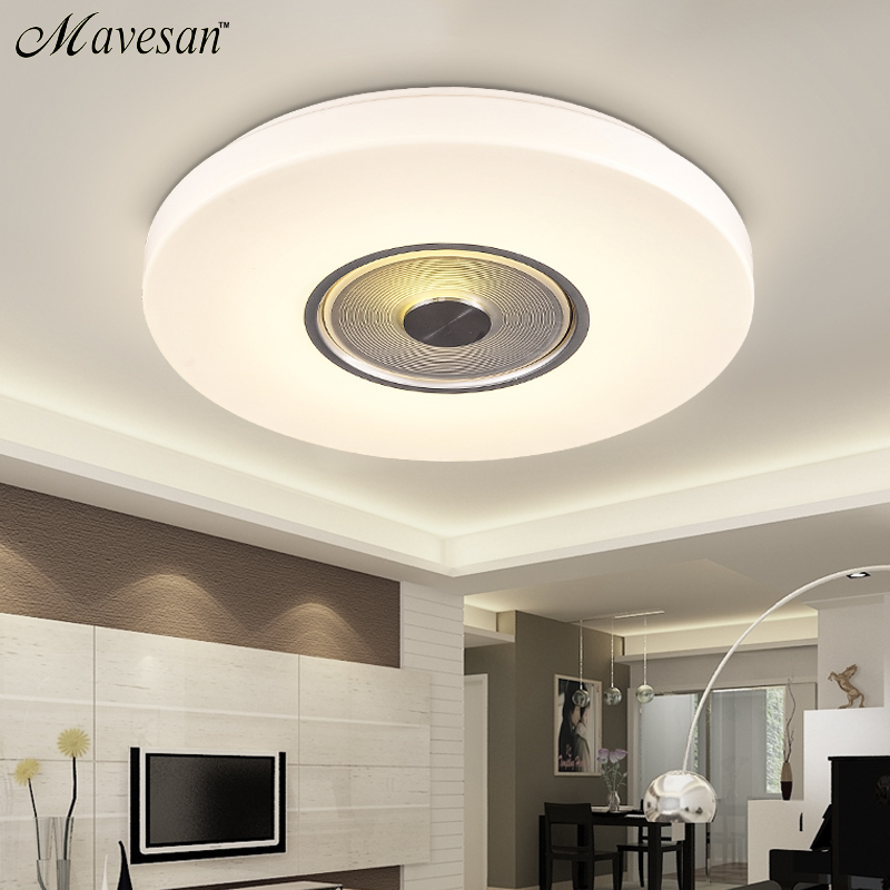 Hot Selling Switch around  ceiling-mounted luminaire with cool &amp; warm white Modern Ceiling light for hallway,kitchen<br><br>Aliexpress