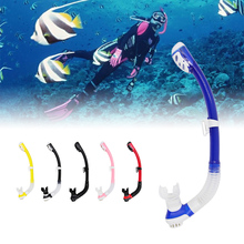 Professional full dry snorkel for free diving snorkeling equipment,breathing tube for swimming,snorkling breathing apparatus(China)