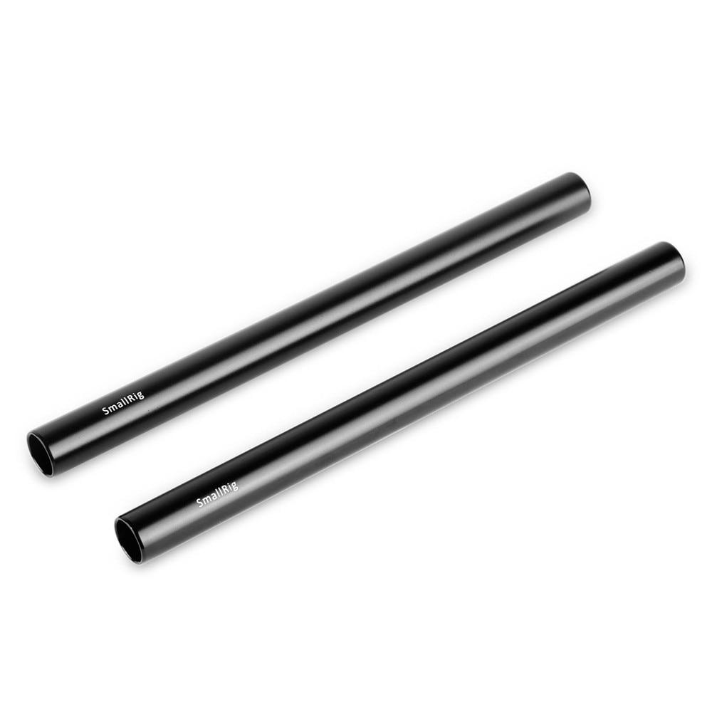 Varilla de aleación de 2 un 15mm 30cm 12 pulgadas de tubo de rosca M12 para 15mm Sistema de Soporte de riel