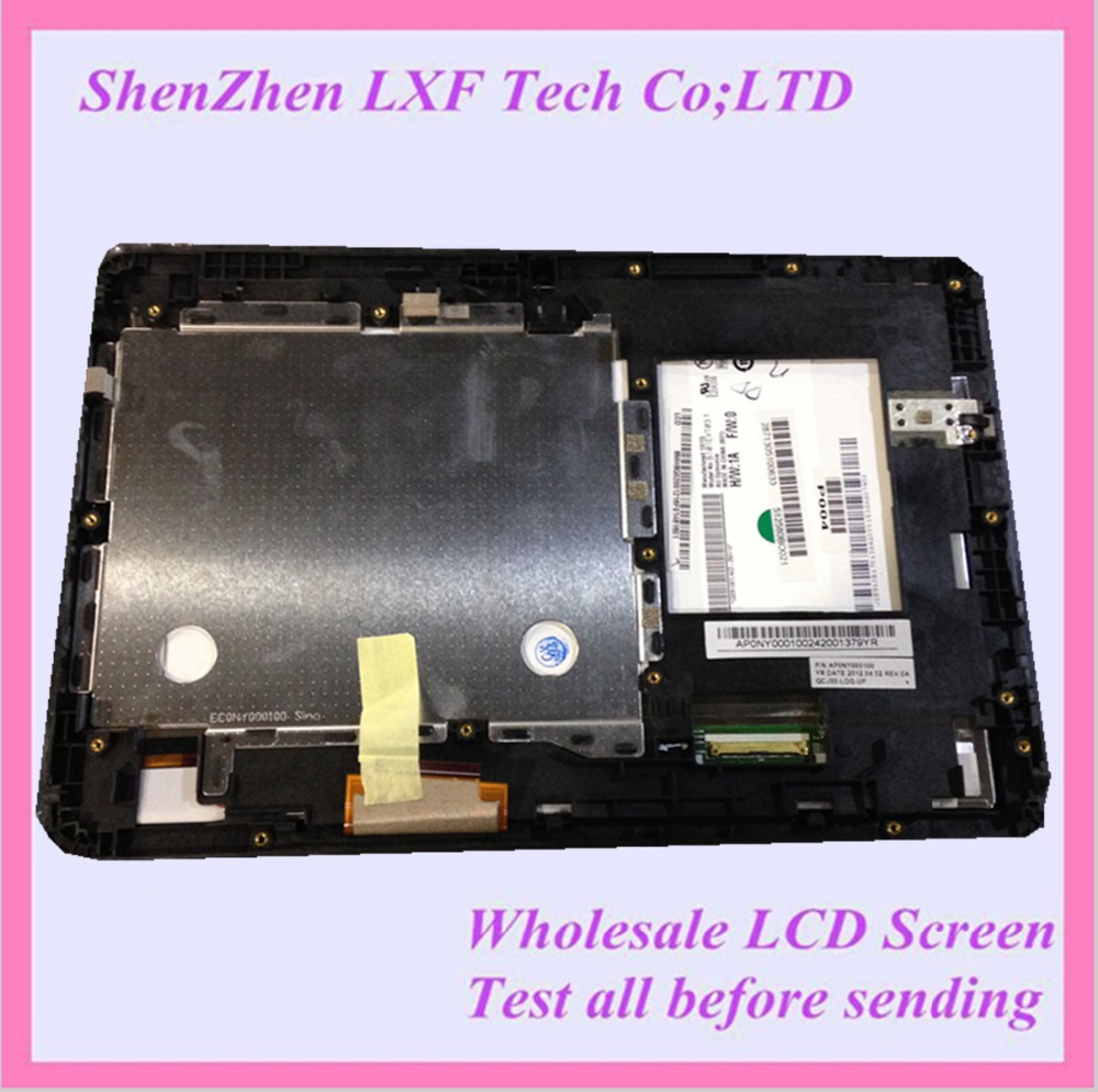 10.1 Tablet lcd screen with Touch panel B101EVT03.1 For ACER A200 LCD Assembly with frame bezel <br><br>Aliexpress