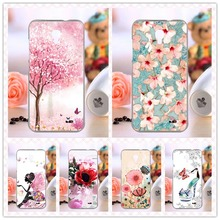 Luxury Design Case For Alcatel One Touch Pop 2 M5 5042 5042X 5042D 4.5' Popular Cover Top Painting Case For Alcatel pop2 m5 5042