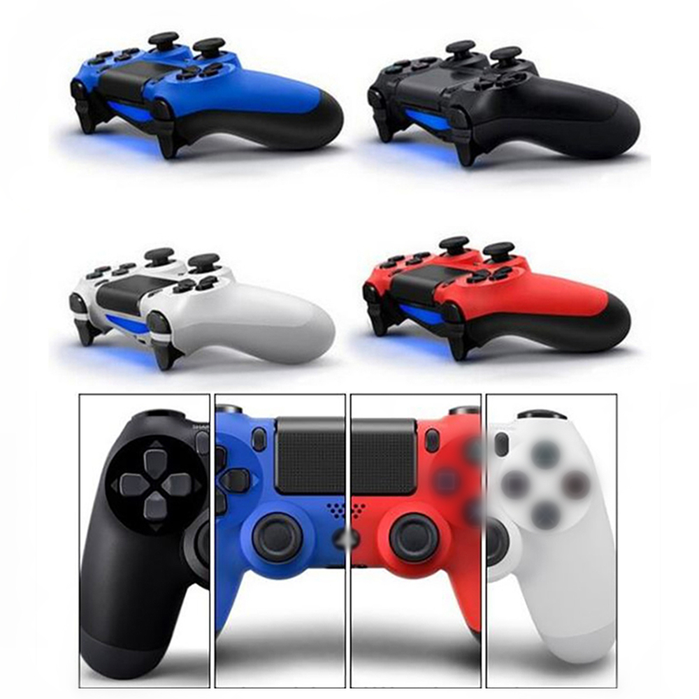 Palissi High quality Bluetooth Wireless Gamepad with Trackpad &amp; Built-in Speaker Game Handle Controller for Play Station 4/PS4<br>