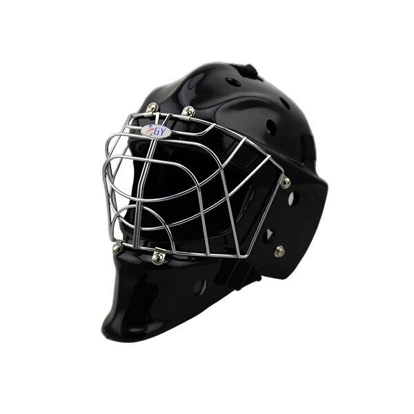 dark black  floorball &amp; field hockey helmet  hot sale  goal keeper helmet<br><br>Aliexpress
